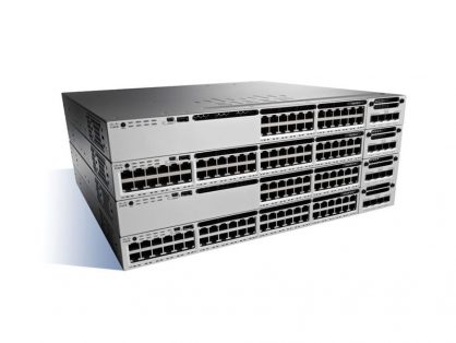 CISCO WS-C3850-24U-S 24 PORT ETHERNET UPOE SWITCH 1100WAC PWR 3850 IP BASE