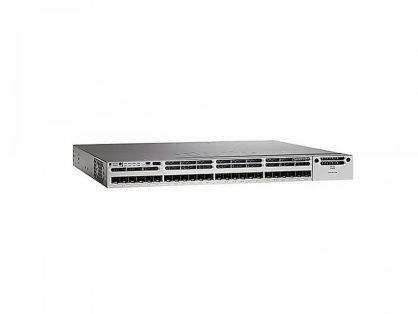 Cisco WS-C3850-24XS-S IP Base Switch 24 SFP+ Ethernet Ports 715WAC PWR