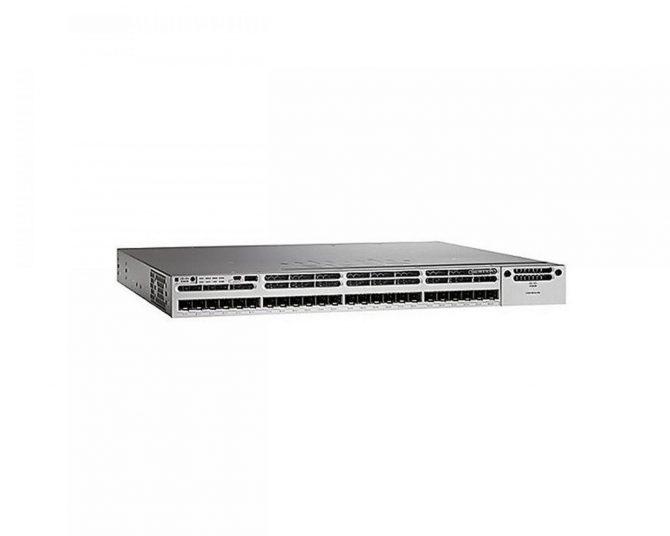 NEW Cisco WS-C3850-24XS-S IP Base Switch 24 SFP+ Ethernet Ports 715WAC PWR