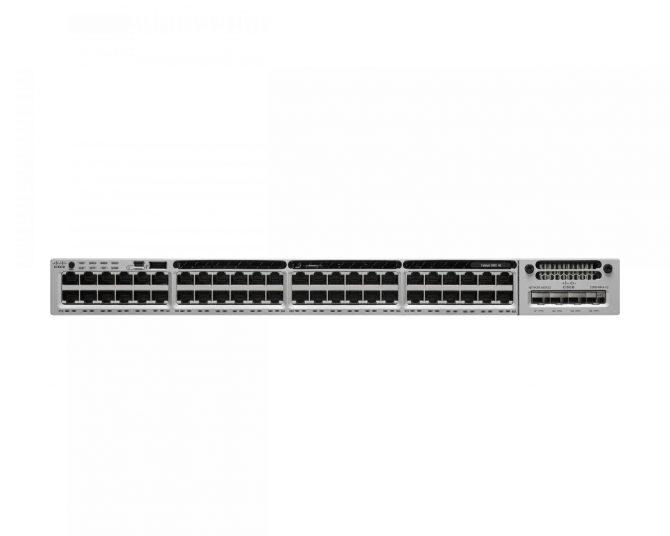 NEW Cisco WS-C3850-48F-S Switch 3850 48 PoE+ IP Base 1100WAC PWR 4x 10GE