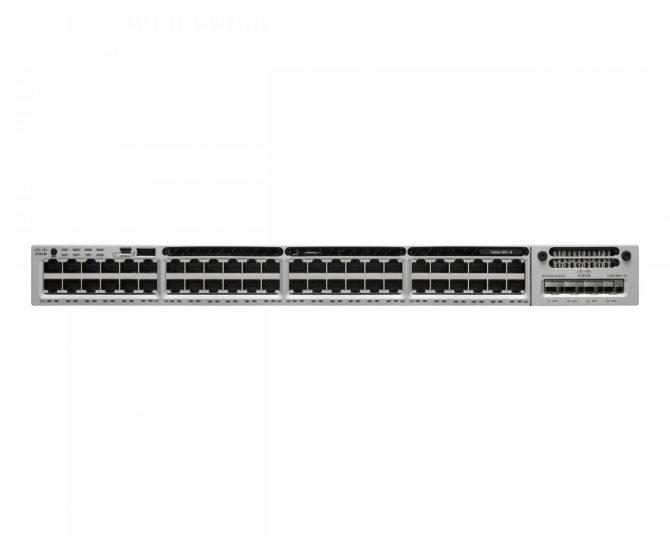 Cisco WS-C3850-48P-L Switch 3850 48-Port PoE+ 715WAC PWR LAN