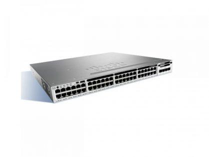 NEW CISCO WS-C3850-48P-S 48 Switch GigE POE+ IP BASE 715W PWR