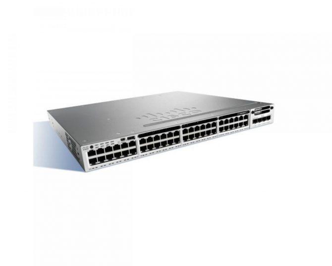CISCO WS-C3850-48P-S 48 Switch GigE POE+ IP BASE 715W PWR
