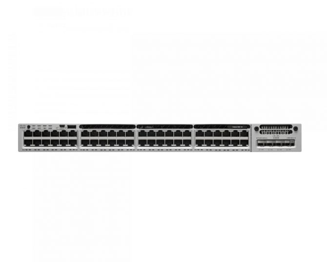 New WS-C3850-48T-S Cisco Catalyst C3850-48T Switch Layer 3 - 48 10/100/1000 Ethernet ports - IP Base - managed- stackable
