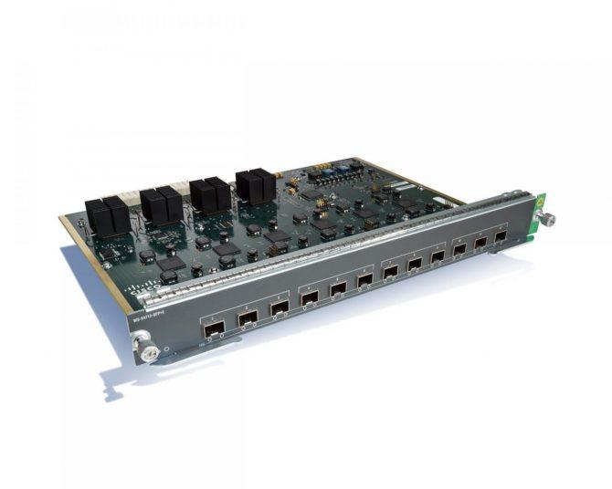 NEW Cisco WS-X4712-SFP+E Catalyst 4500E Series Line Card 12-Port 10 Gigabit Ethernet (SFP+)