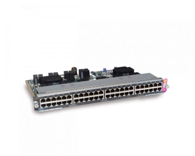 NEW CISCO WS-X4748-12X48U+E CATALYST 4500E 48-PORT UPOE SWITCH
