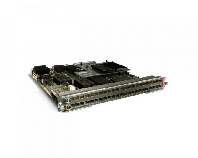 Cisco WS-X6848-SFP-2TXL 48-port Gigabit SFP Fiber Ethernet Module DFC4