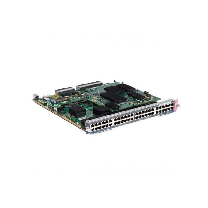 CISCO WS-X6848-TX-2T 48-PORT COPPER GIGABIT ETHERNET MODULE DFC4 RJ-45