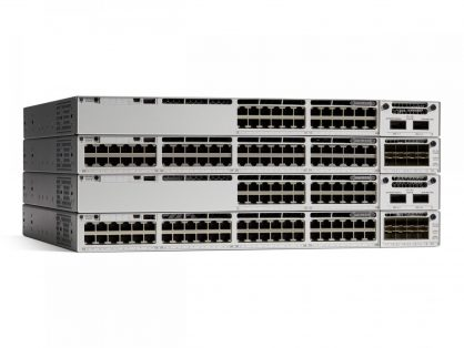 NEW Cisco C9300-48UXM-A Catalyst 9300 Switch 48-port 2.5G (12 mGig) UPOE, Network Advantage 1100WAC-P